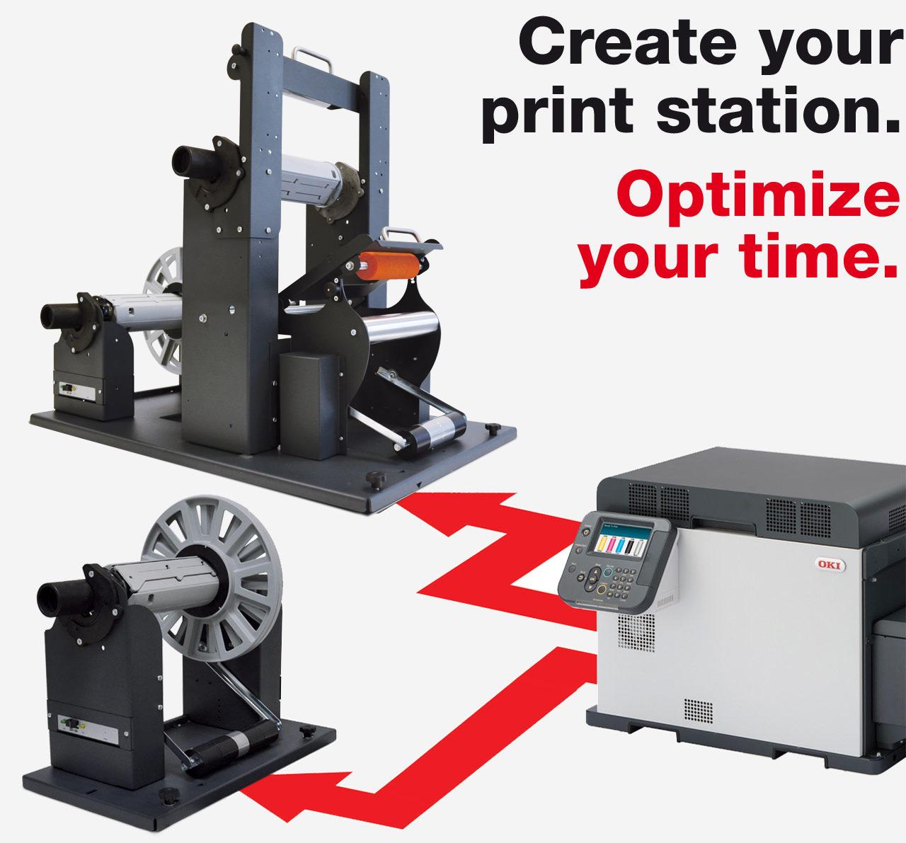Label Accessories for OKI Pro Series Printers (Pro1050